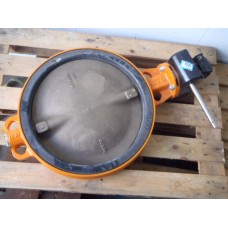 DN 500  PN 10 inoxyda . Butterfly Valve. Unused.