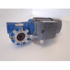 280 RPM 0,25 KW holle as 18 mm  geremd / brake . USED.