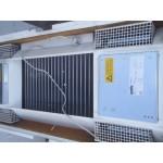 Cassette-luchtverwarmer CV heater 21 kW BIDDLE. Gebruikt