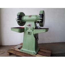 Slijpmachine, zware uitvoering met 2 x  400 mm steen