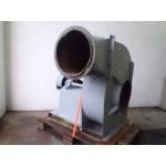 Radiaal ventilator 400 volt 2100 RPM 4,5 KW , Used.Krullenafzuiger