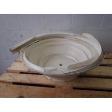 Losse trilkommen  voor trilvullers, Diameter  70 cm