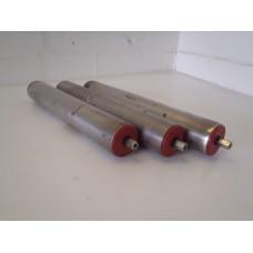 Partij rollen, rond 50 mm lengte 32 cm