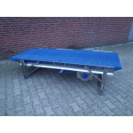 Transportband 81 cm breed 240 cm lang, Roestvrij staal.