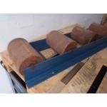 Rollenbaan voor bij zaagmachine 122 cm x 20 cm breed