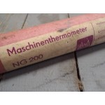 Machinethermometer 0 tot 150 ºC Old stock.