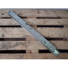 Lineaire geleider, schuif rail. Uitschuif lengte 80 cm. SET. Used.