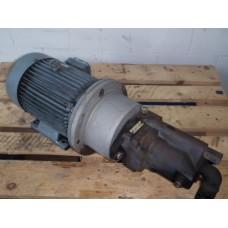 Hydrauliek pompset 9,2 KW 315 bar. Used.