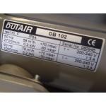 Blower zijkanaalventilator 0,2 KW 230 Volt.