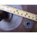 .1,1 KW 690 RPM flens Rotor. Used.