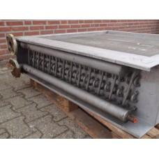 Koelblok koper aluminium 115 cm x 115 cm x 30 cm.