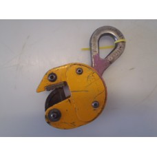 Platenklem,  lifting clamp 500 kilo. USED.
