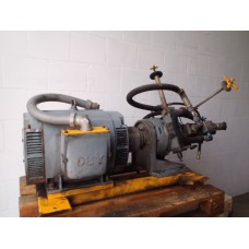 Hydrauliek unit 350BAR Regelb dub oliepomp Racine 45kw