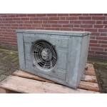 Luchtverwarmer CV heater 30 KW geheel gegalvaniseerd. Gebruikt