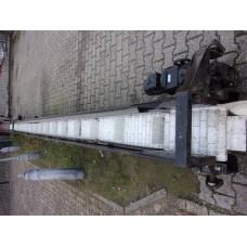 Opvoerband 9,55 meter lang, variabele snelheid. USED.