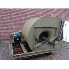 Centrifugaal ventilator indirect gedreven, 6,8 KW 1440 rpm / 1,4 KW  720 rpm