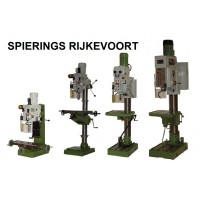 Ons assortiment Kolomboormachines tafelboormachines boor-freescombiaties.