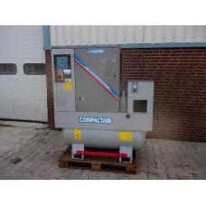 Creemers schroefcompressor 400 volt 5,5 KW incl. vriesdroger.