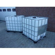 Ibc watertank vloeistoftank 1000 liter