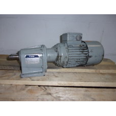 112 RPM  0,25 KW  LENZE. Used
