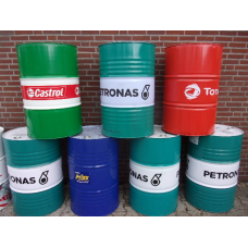 210 liter Olievaten, diverse merken