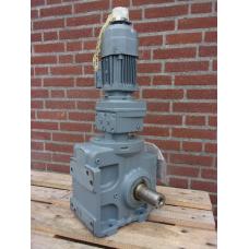 0,45 RPM 0,12 KW 1200 Nm SEW-Eurodrive, unused.