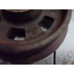 flenswiel, Ø 200 mm, gietijzer wiel.
