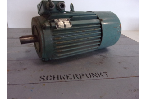 .4 KW  1500 RPM, geremd, AS 28 mm. USED.