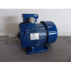 .0,75 KW 2800 RPM AS 19 mm. NIEUW.