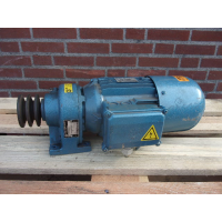 180 RPM  1,1 KW As 19 mm Brake. Used.