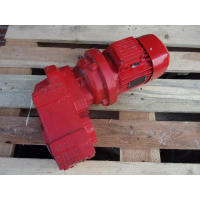 137 RPM  0,37 KW As 35 mm. Used.
