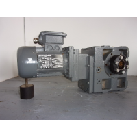1,6 RPM 0,12 KW As 35 mm Lenze. Used.