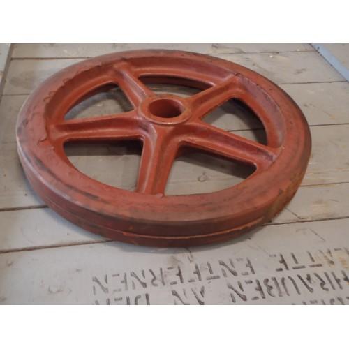 Welp Zwaar gietijzer wiel,diameter 460 mm. Nieuw oude voorraad GD-67
