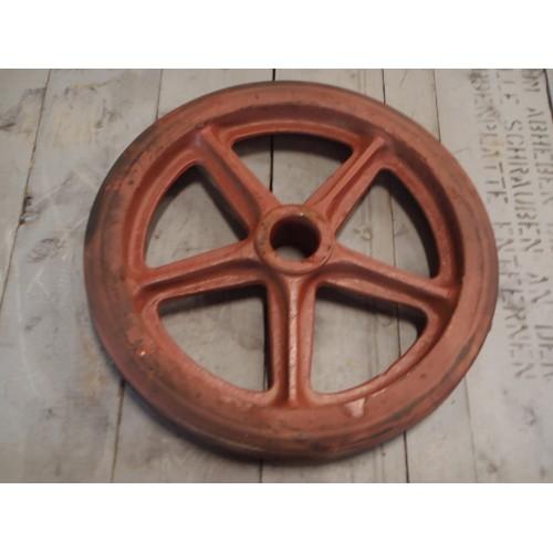 Betere Zwaar gietijzer wiel,diameter 460 mm. Nieuw oude voorraad JL-72