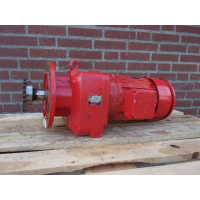 69 RPM 4 KW B5 As 40 mm. Used.