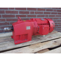 214 RPM 7,5 KW  As 40 mm. Used.