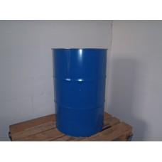metalen vaten/tonnen 200 liter zonder deksel 88 cm x 59 cm stalen. In nieuwstaat