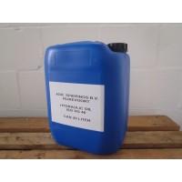 Hydrauliek olie, (iso VG 46) in 20 liter verpakking.