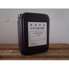 Hydrauliek olie, (iso HV 46) in 10 liter verpakking.