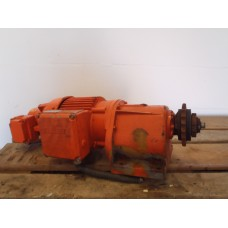 13 RPM / 80 RPM   0,063 KW / 0,4 KW  BAUER. Geremd. USED.