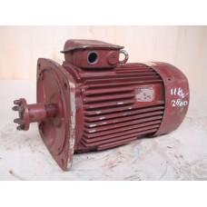 11 KW 2900 RPM flens VEM. used.