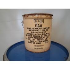 Smeervet Grease G-403  GAA . MIL-G-10924D  20 liter