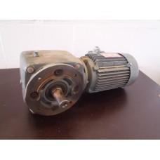 129 RPM 0,55 KW SEW-Eurodrive Haaks. Gebruikt