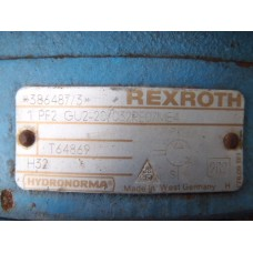 Hydrauliek pompset Rexroth 1pf2 gu2-20/032re07me4  Used