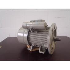 .1,1 KW 2900 RPM 230 volt, flens voet Siemens. unused.
