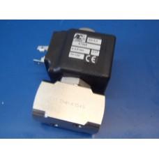 RVS magneetventiel 2/2-weg  G1/4 inch NO.  NEW