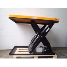 Hydraulische heftafel, electrisch aangedreven. 2000 kilo. NIEUW op voorraad