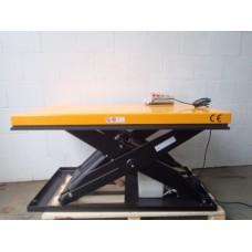 Hydraulische heftafel, electrisch aangedreven. 1000 kilo. NIEUW op voorraad