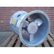 Axiaal ventilator, ø 45 cm. 400 volt. New, old stock.